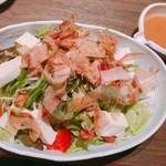 ゆるりと菜 村さ来 藤沢店 - 豆富とアボカドのサラダ