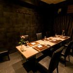 鉄板焼 八七七 - 【VIP ROOM】ご接待、御会食などの御利用に。4~8名様の御利用となります。