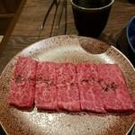 焼肉家 KAZU - カルビ 塩