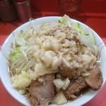 ラーメン二郎 - 小豚※ニンニク少し、ヤサイ、アブラ