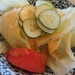 赤坂 - 料理写真:サラダ。