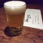 8904549 - お昼のミニビール200cc.JPG