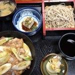 大村庵 - 料理写真:かも肉丼セット