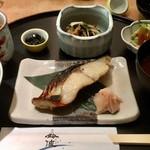 鈴波 - 鈴波定食(鰆の味醂粕漬)