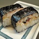 らぁめん登里勝 - 焼きさば寿司