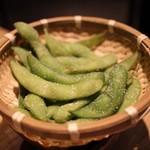 広島焼き どんき - 枝豆