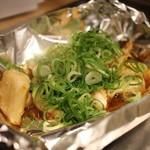 広島焼き どんき - ゲソ焼き(肝醤油)