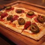 ROCK ON CITY - ハラペーニョのピザ