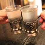 和洋創作厨房BIZ - 八海山で乾杯\(^^)/