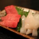 和洋創作厨房BIZ - するめイカ・本マグロ上赤身