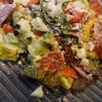 タベルナ・ピノリ - 料理写真:シェフの気まぐれ具沢山サラダ