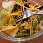 デニス キッチン アジアンダイニングバー - セットのサラダ