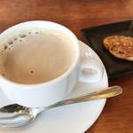 レストラン レ・フレール - カフェオレ