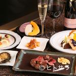ステーキ 海鮮 鉄板焼き 五稜郭 - 北海道産食材をふんだんに使った上質なコース料理を堪能する