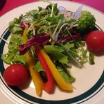 クッチーナ雪月花 - 菜園風サラダ