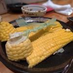 焼鶏 松本 - とうもろこしの刺し身