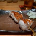 焼鶏 松本 - むねかわ