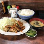 鳥八 - 料理写真:鳥スタミナ定食 600内