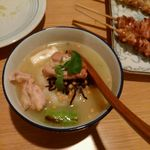 焼鳥屋 バードマン - 鶏だし茶漬け 550円