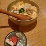 焼鳥屋 バードマン - 鶏丼(玉子プラス)650円
