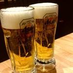 広島焼き どんき - 生ビール