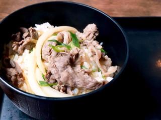 三福 - ミニ肉丼