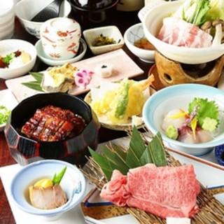★旬満載!華やかな日本料理を愉しめる♪
