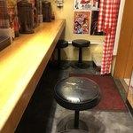 スパゲッティーのパンチョ - 店内カウンター席