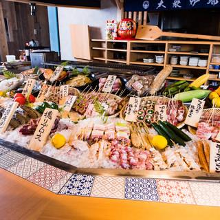 【人気】野菜巻串