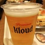 89058661 - Kloudビール無制限(※Lサイズのピザを頼んだ場合のみ) 1人5000₩