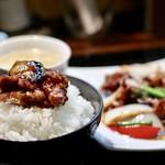 89058820 - 茄子と豚肉の味噌炒め(Aランチ)