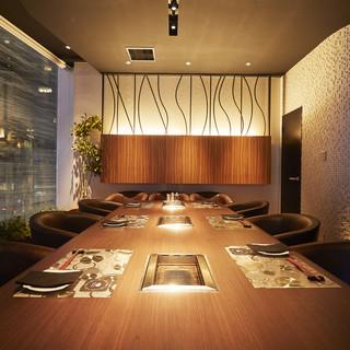 接待・会食に最適な完全個室