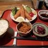 醍醐 - 料理写真:日替定食(釧路産 鰯フライ)(税込850円)
