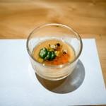 和食 いいくら - ☆玉蜀黍の冷製スープ