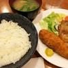 遊季亭 - 料理写真:豚の生姜焼きとイワシ梅シソフライ