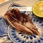 緒方 - 京都府宮津のトリ貝の炙り