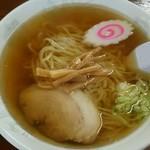 針谷ラーメン - 手打ちラーメン600円