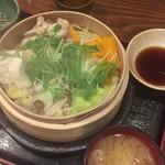 89065000 - 鶏ももと野菜のせいろ蒸し ¥850.-