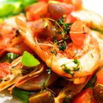 マジックレストラン&バーGIOIA 銀座 - 海老のグリル