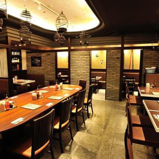 一級品の中華料理を上質な空間で