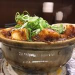 華や - 麻婆豆腐の表面張力
