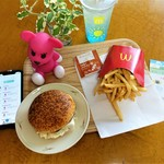 マクドナルド - 料理写真:ロコモコセット 700円