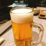 東京苑 虎ノ巻 - 生ビール