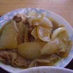 大衆食堂 月よし - 肉豆腐200円