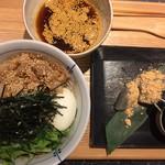 ピリ辛肉蕎麦 (つけ麺)