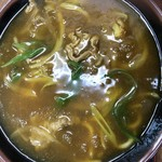 おたふく - 料理写真:牛カレーうどん 770円