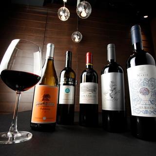シニアソムリエ厳選のワインとA5和牛のマリアージュ