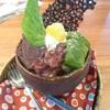 豆茶香&あぷり - 料理写真:大福パフェ ドリンクセットで1,050円