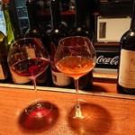 自然派ワインとアテ F - 北伊の赤とオレンジワイン