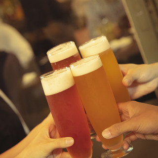 【クラフトビール】6種類の生ビールをご用意!